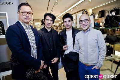 jay soonthornsawad in BOYY SS14 Launch at Bergdorf's