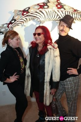 patricia field in Opening Party of Kevin McHugh Exhibition at THE OUT NYC