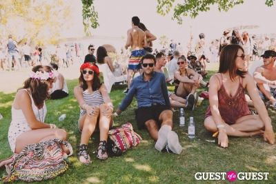 victor colomes in Coachella: LACOSTE Desert Pool Party 2014