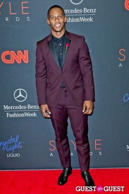 victor cruz in The 10th Annual Style Awards