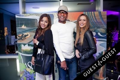 tonia smith-and-leslie-shanti in Gascón X Brian Kirhagis event Hosted By GQ