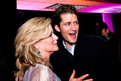 matthew morrison in WHCD First Amendment Party
