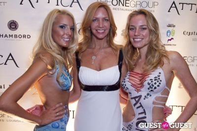 victoria schweizer in Attica 2nd Anniversary -- White Party
