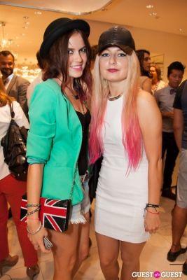 victoria and-ilona-yahalnitskaya in Moschino Celebrates Fashion's Night Out 2012