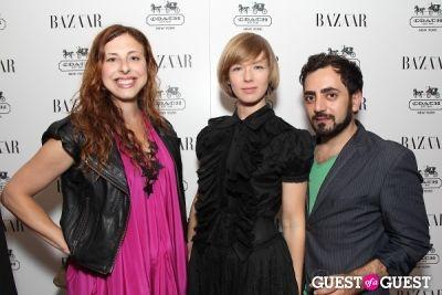 von vonni in Harper's Bazaar Greatest Hits Launch Party