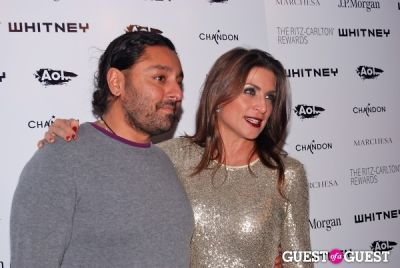 vikram chatwal in Whitney 2011 Studio Party