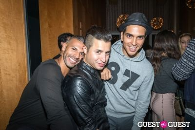 vincent oquendo in BCBGMAXAZRIA Runway After Party
