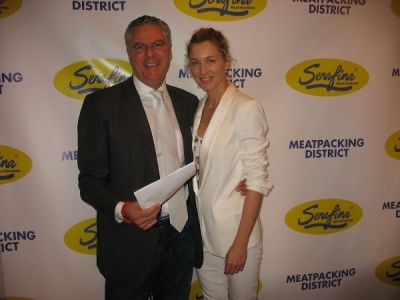 vittorio assaf in Serafina Meatpacking Grand Opening!