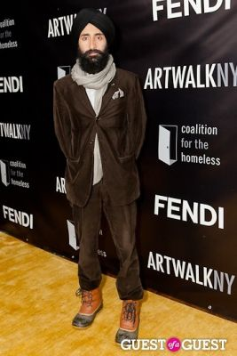 waris ahluwalia in 18th Annual Artwalk NY Benefiting Coalition for the Homeless