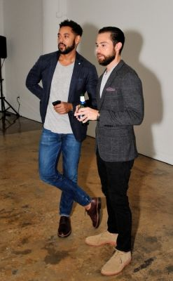 wendell brown in Bonobos Spring 2015 Collection Presentation