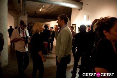 wendy teague in R&R Gallery Exhibit Opening