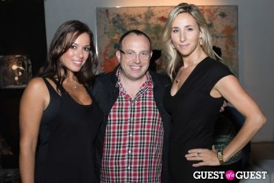 wes stevens in Preview Party for Billy Zane's Solo Art Exhibition: