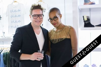 lola gayle in WILLIAM Sample Sale at Brigade LA