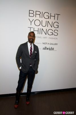 will joyner in Bright Young Things Opening Party