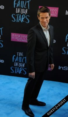 willem dafoe in The Fault In Our Stars Premiere