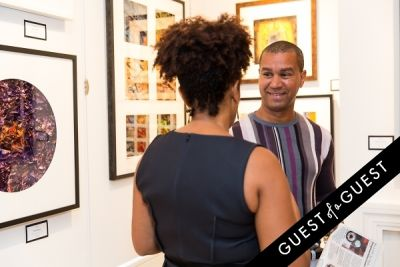 william linares in P Street Gallerie Opening