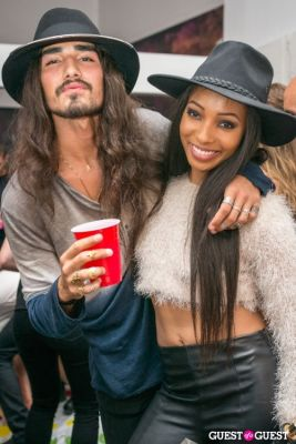 willy cartier in Galore Magazine Kick-Off Party