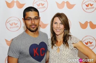 wilmer valderrama in The SWOON App NYC ReLaunch Event