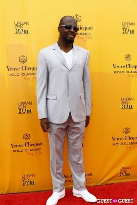 wyclef jean in Veuve Clicquot Polo Classic at New York