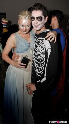 yale breslin in VISIONAIRE Haolloween Party