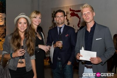 cindy dolenc in Preview Party for Billy Zane's Solo Art Exhibition: