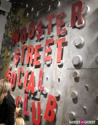 Grand Opening of Wooster St Social Club/ NY INK