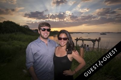 eric rosenfeld in GUEST OF A GUEST x DOLCE & GABBANA Light Blue Mediterranean Escape In Montauk