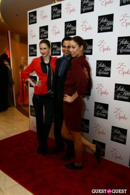 zac posen in Saks Fifth Avenue Z Spoke by Zac Posen Launch