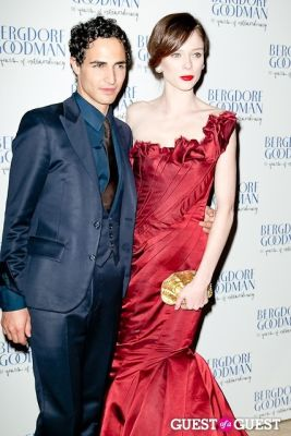 zac posen in Bergdorf Goodman celebrates it's 111th Anniversary at the Plaza