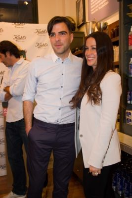zachary quinto in Kiehl's Earth Day Partnership With Zachary Quinto and Alanis Morissette