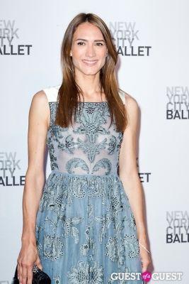 zani gugelmann in New York City Ballet's Fall Gala