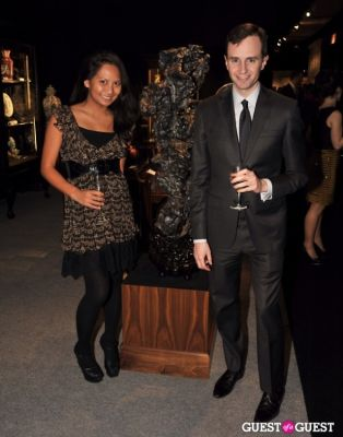 justin katz in Winter Antiques Show Young Collectors Night
