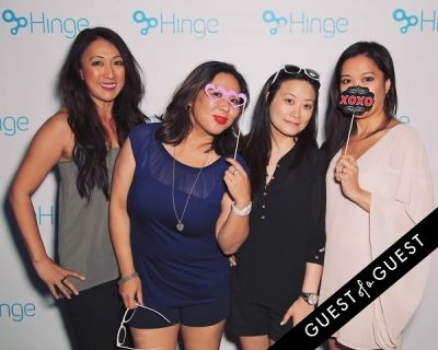 zha zha-vi in Hinge App LA Launch Party