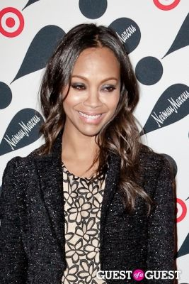 zoe saldana in Target and Neiman Marcus Celebrate Their Holiday Collection