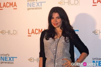 zuleikha robinson in UNICEF Next Generation LA Launch Event