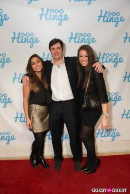 anahi einhorn;-kenny-hodge in Arrivals -- Hinge: The Launch Party