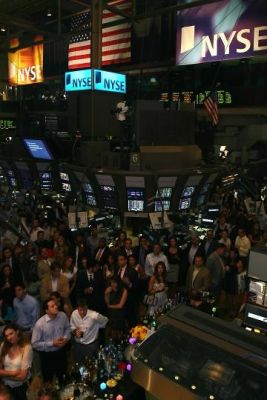 nick russo in Autism Speaks at the New York Stock Exchange