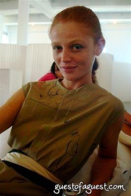 cinti dicker in Susan Cianciolo Spring 2009