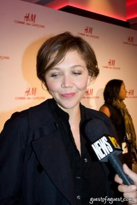 maggie gyllenhaal in H&M Introduces The Commes Des Garcon Collection