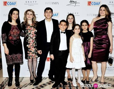 ofya melikyan in Children of Armenia Fund 10th Annual Holiday Gala