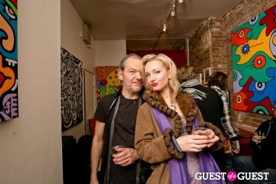 photographer bryan-thatcher-with-model-suzymae in Bodega de la Haba presents Billy the Artist at Dorian Grey Gallery