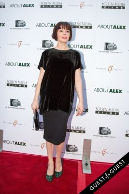 rose mcgowan in Los Angeles Premiere of ABOUT ALEX