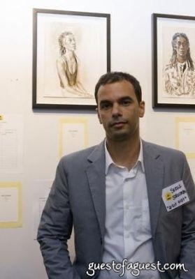 serge strosberg in LWALA artist auction event