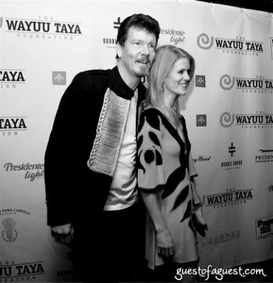 alex mccord in The Wayuu Taya Foundation Gala