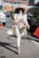 New York Fashion Week Street Style: Day 2 #1