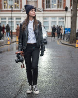 London Fashion Week Street Style AW16 #22