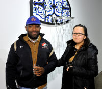 Literally Balling Exhibition Opening at Joseph Gross Gallery #44