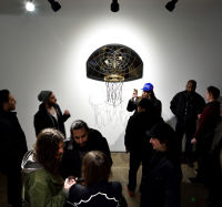 Literally Balling Exhibition Opening at Joseph Gross Gallery #141