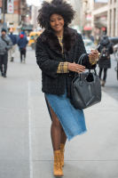 New York Fashion Week Street Style: Day 1 #12