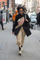 New York Fashion Week Street Style: Day 1 #4